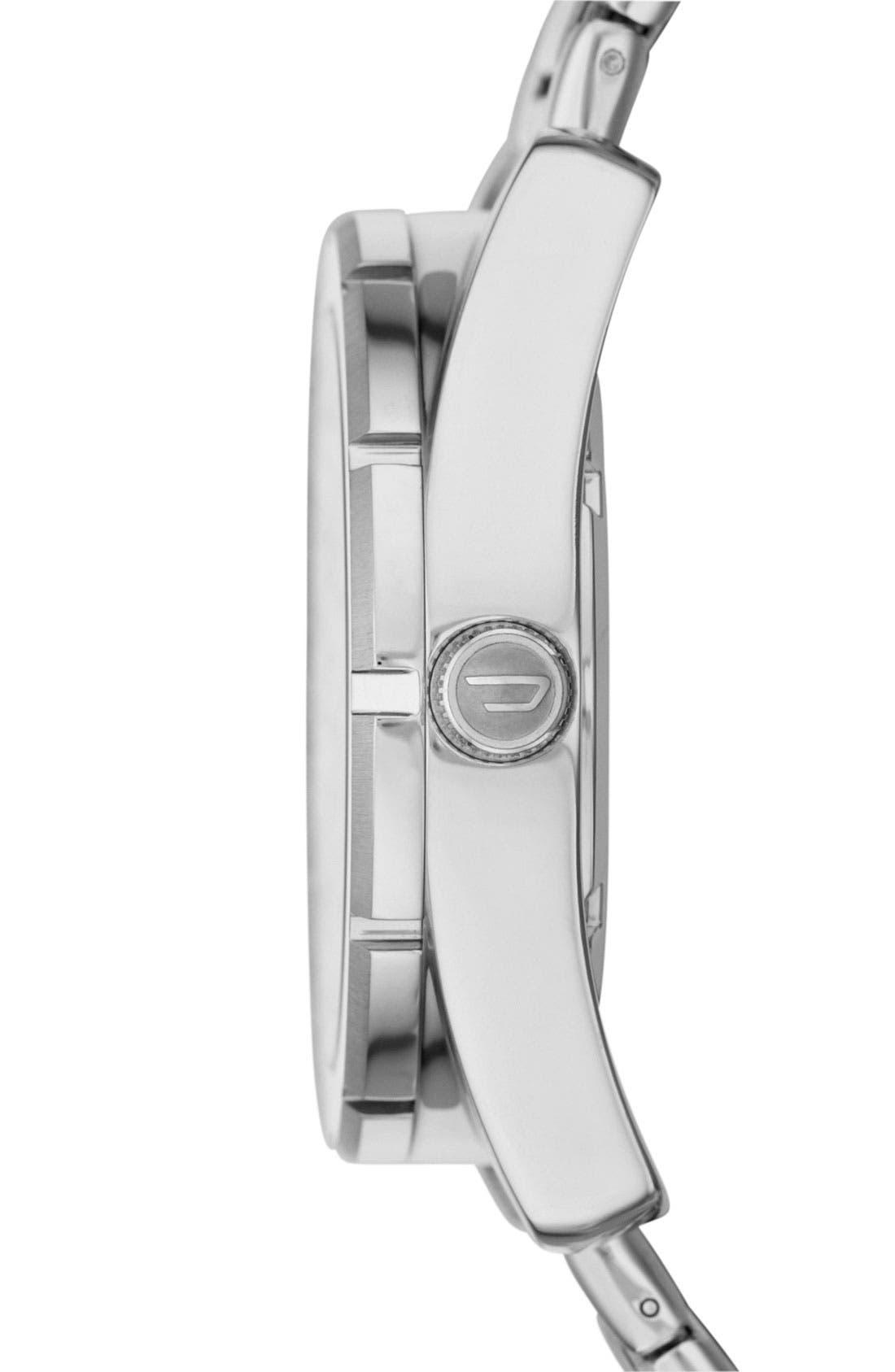 Alternate Image 2  - DIESEL® 'Good Company' Bracelet Watch, 44mm