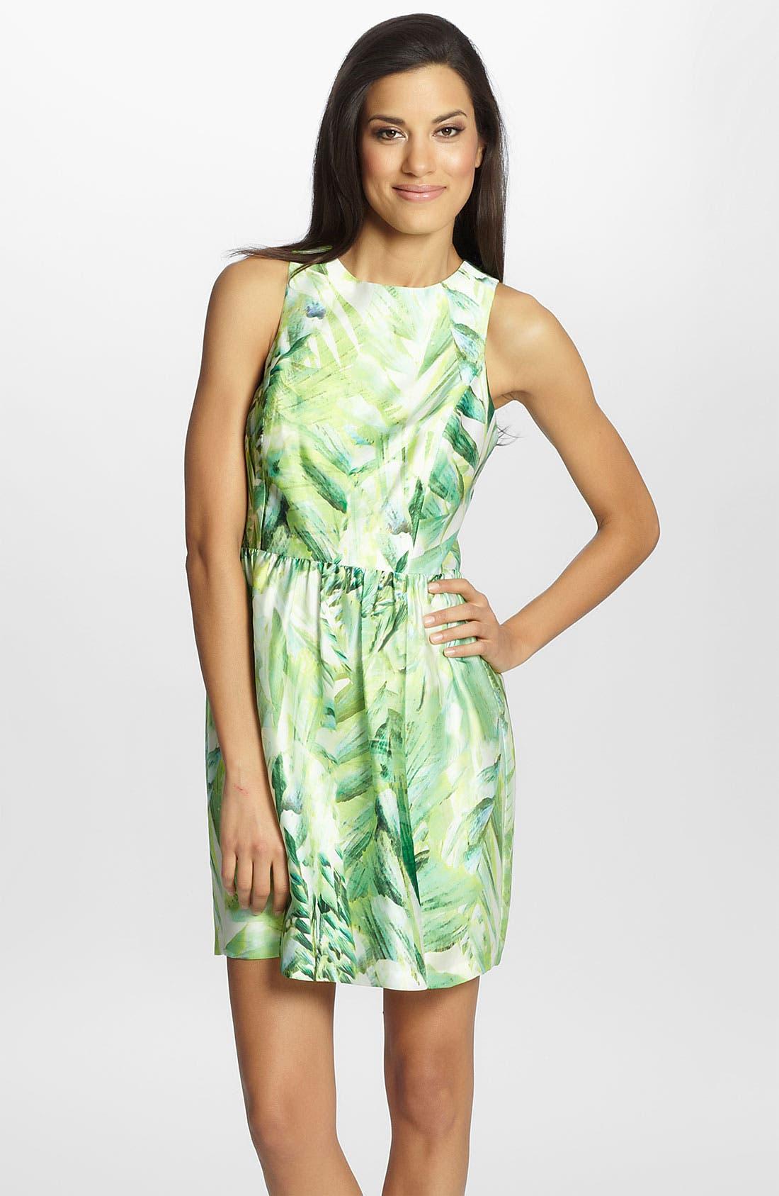 Main Image - Cynthia Steffe 'Sydney' Print Sheath Dress