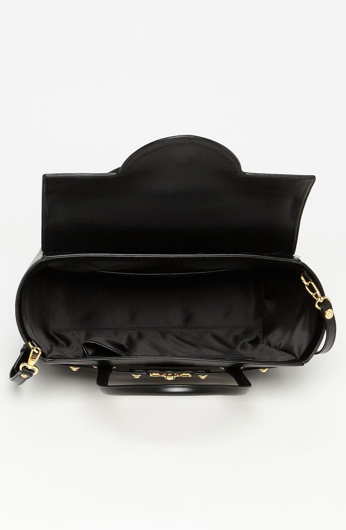 Alternate Image 3  - Versace 'Classic' Leather Satchel