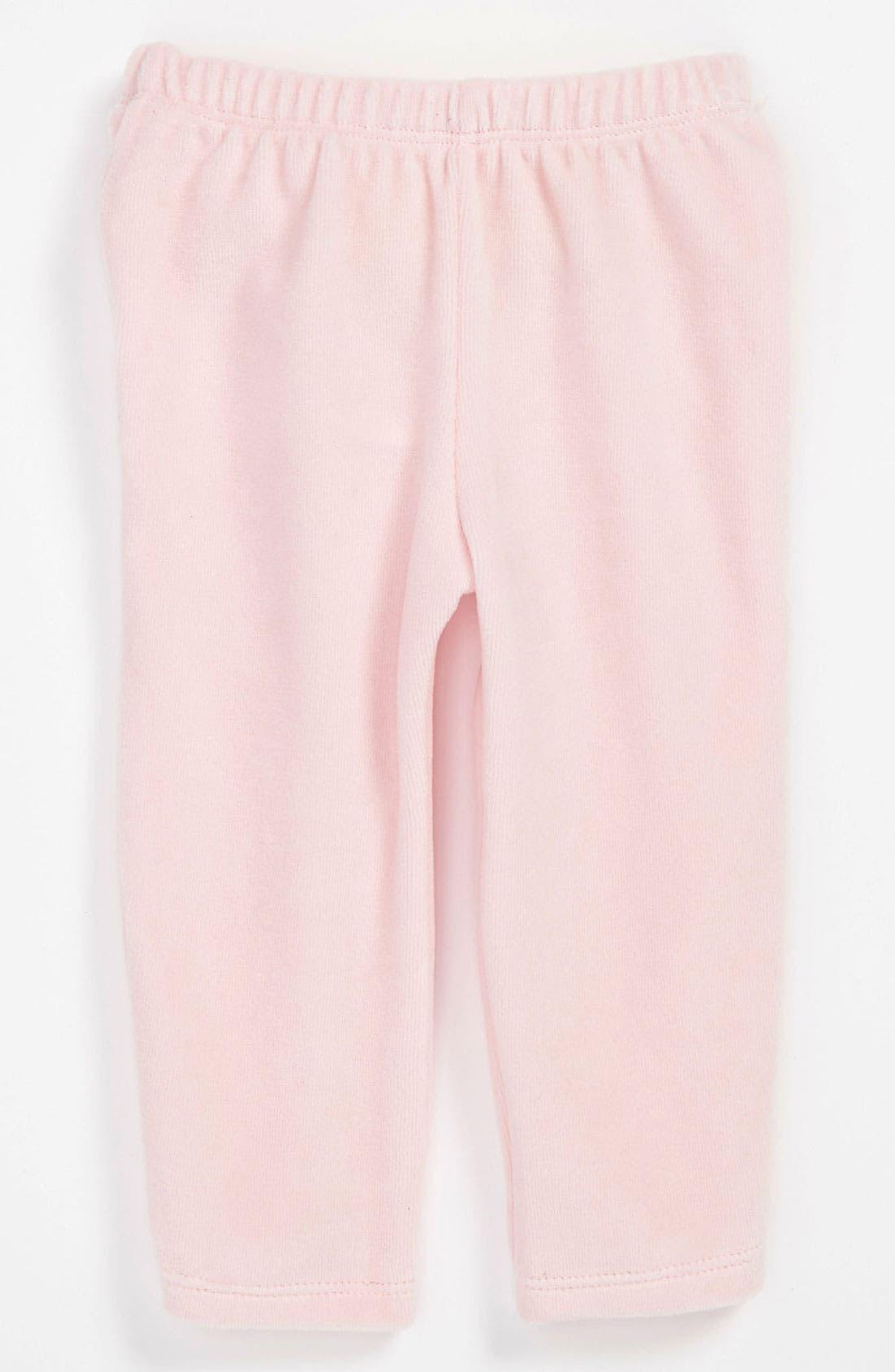 Alternate Image 1 Selected - United Colors of Benetton Kids Velour Pants (Infant)