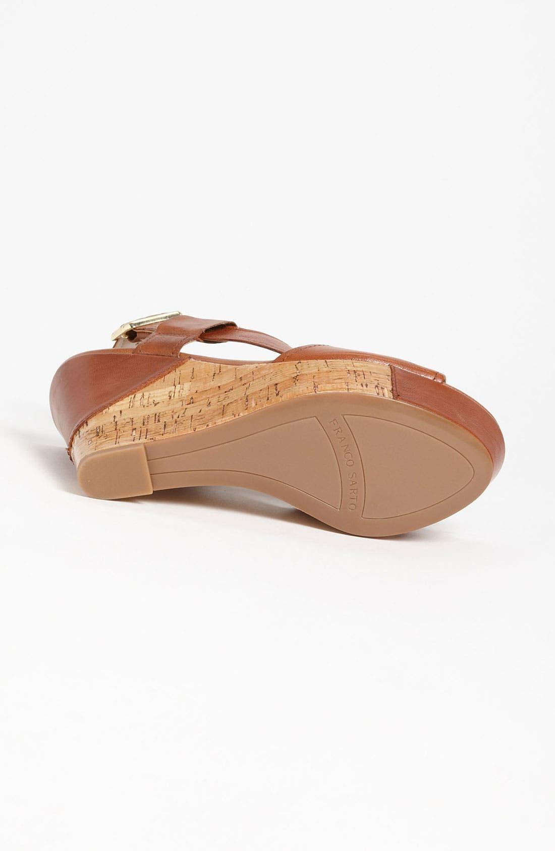 Alternate Image 4  - Franco Sarto 'Xenon' Wedge Sandal (Special Purchase)