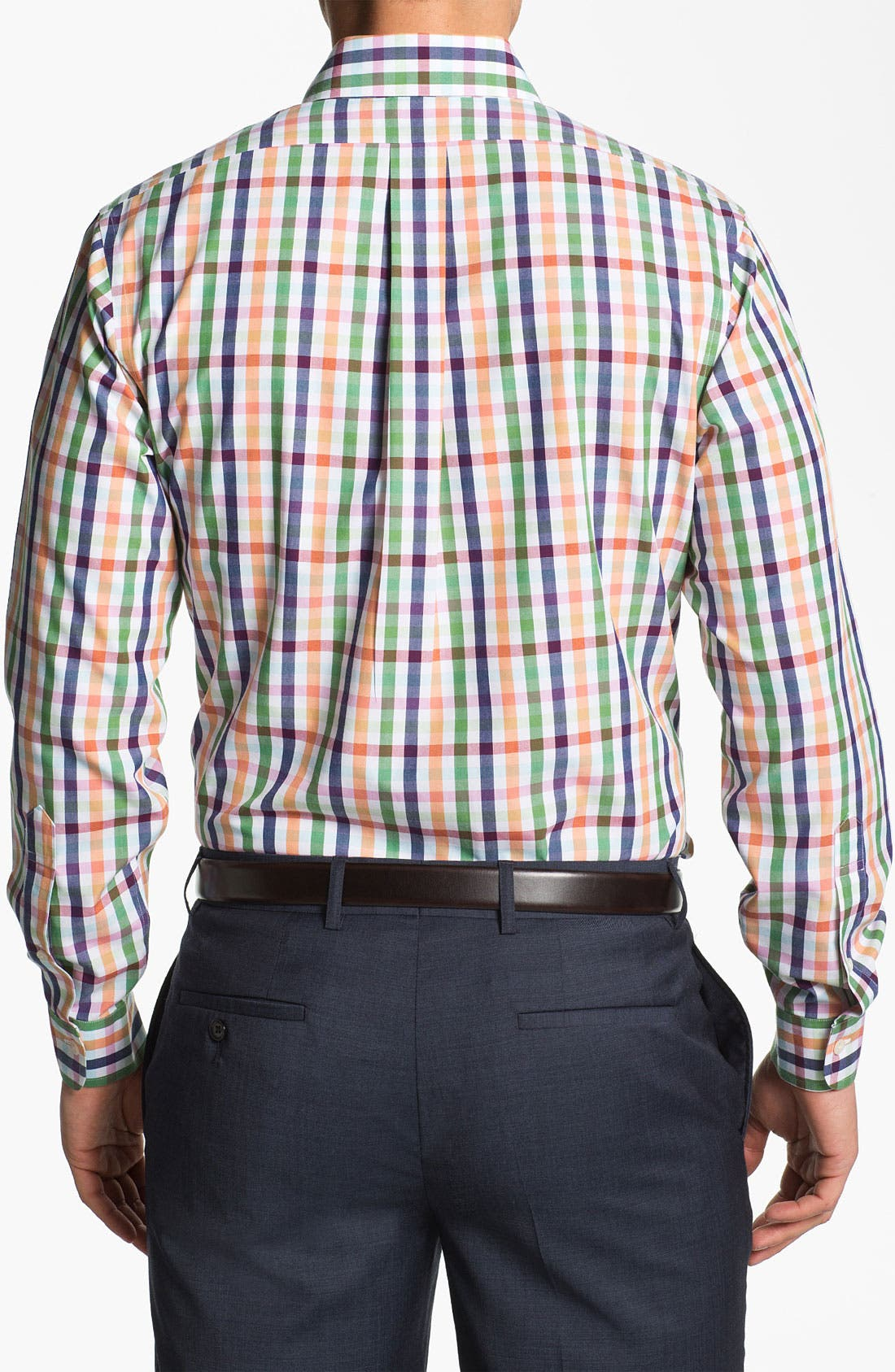 Alternate Image 2  - Brooks Brothers Regular Fit Sport Shirt