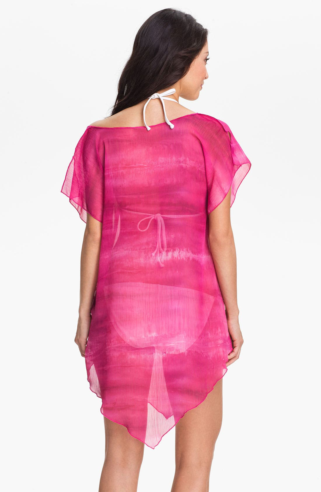 Alternate Image 2  - Becca 'Watercolor' Tunic Cover-Up