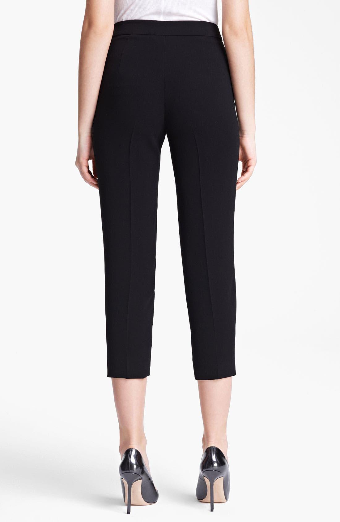Alternate Image 2  - Max Mara Side Zip Crop Pants