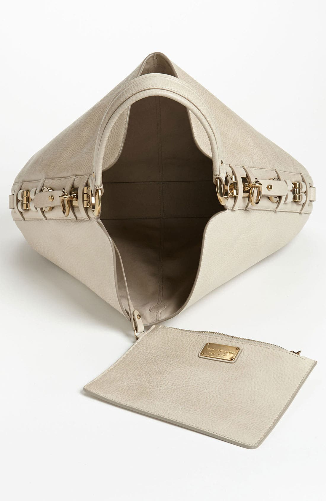 Alternate Image 3  - Salvatore Ferragamo 'Fergie - Small' Hobo