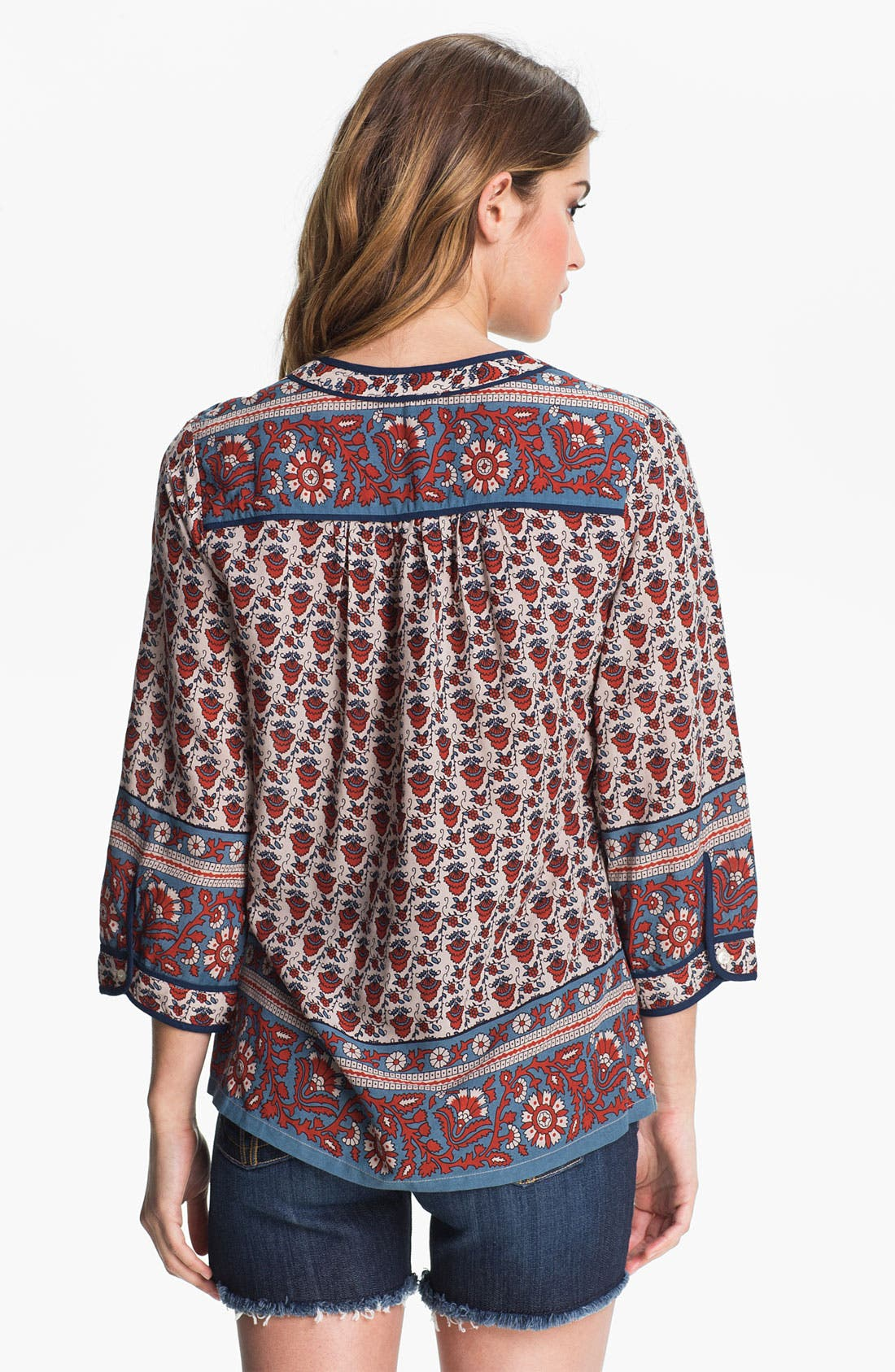 Alternate Image 2  - Lucky Brand 'Betton - Indian Gate Border' Top
