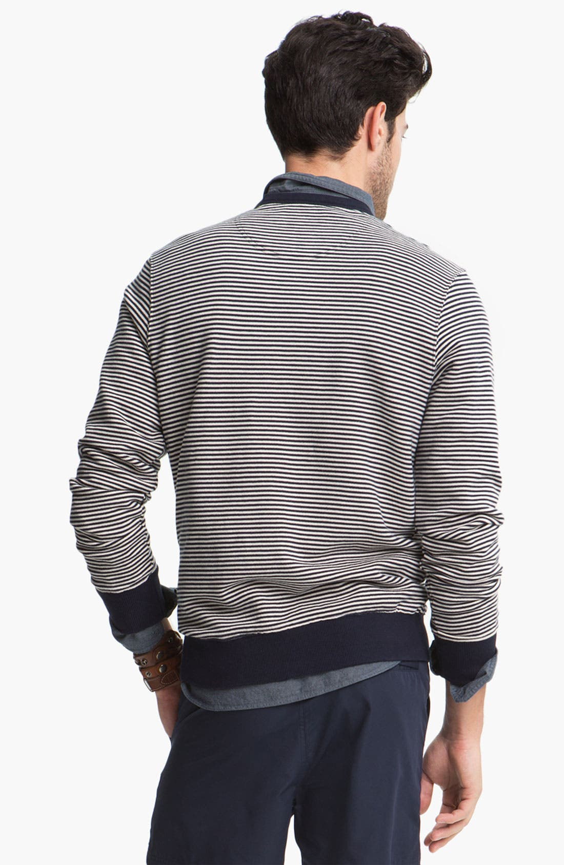 Alternate Image 2  - Fred Perry Crewneck Sweater