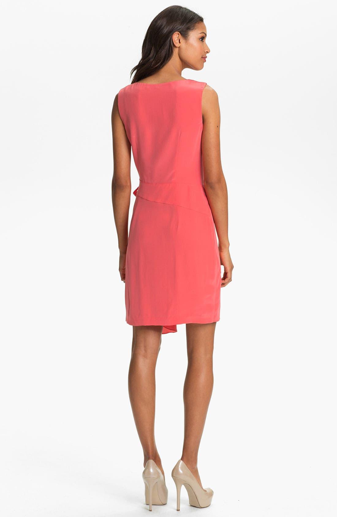 Alternate Image 2  - Suzi Chin Maggy Boutique Draped Faux Wrap Dress