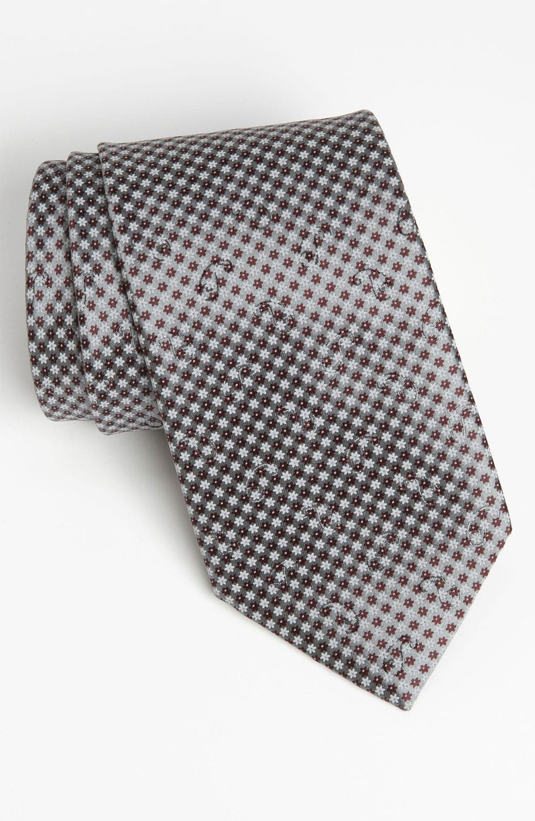 Alternate Image 1 Selected - Ermenegildo Zegna Woven Silk Tie