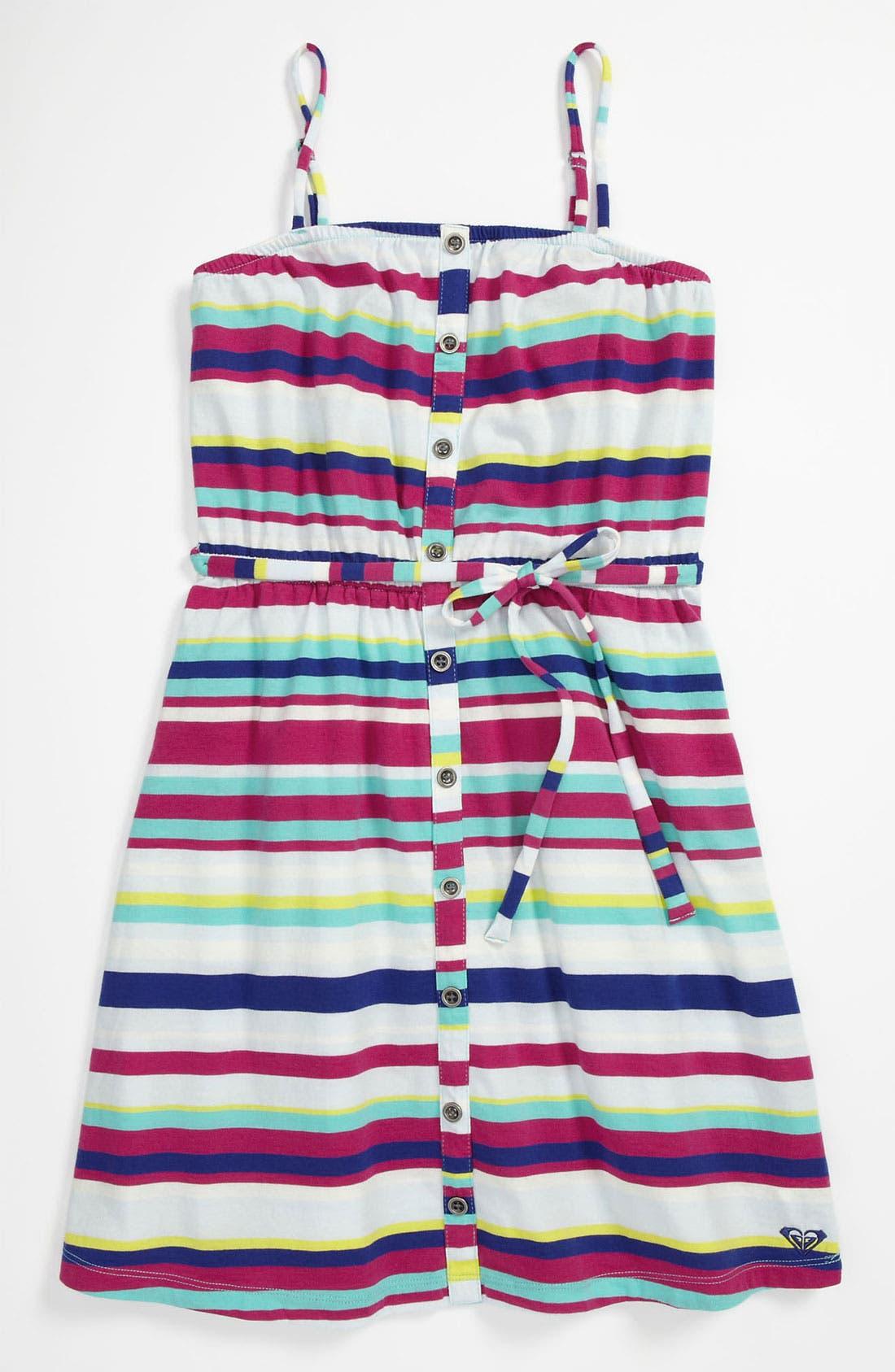 Alternate Image 1 Selected - Roxy Sleeveless Dress (Big Girls)