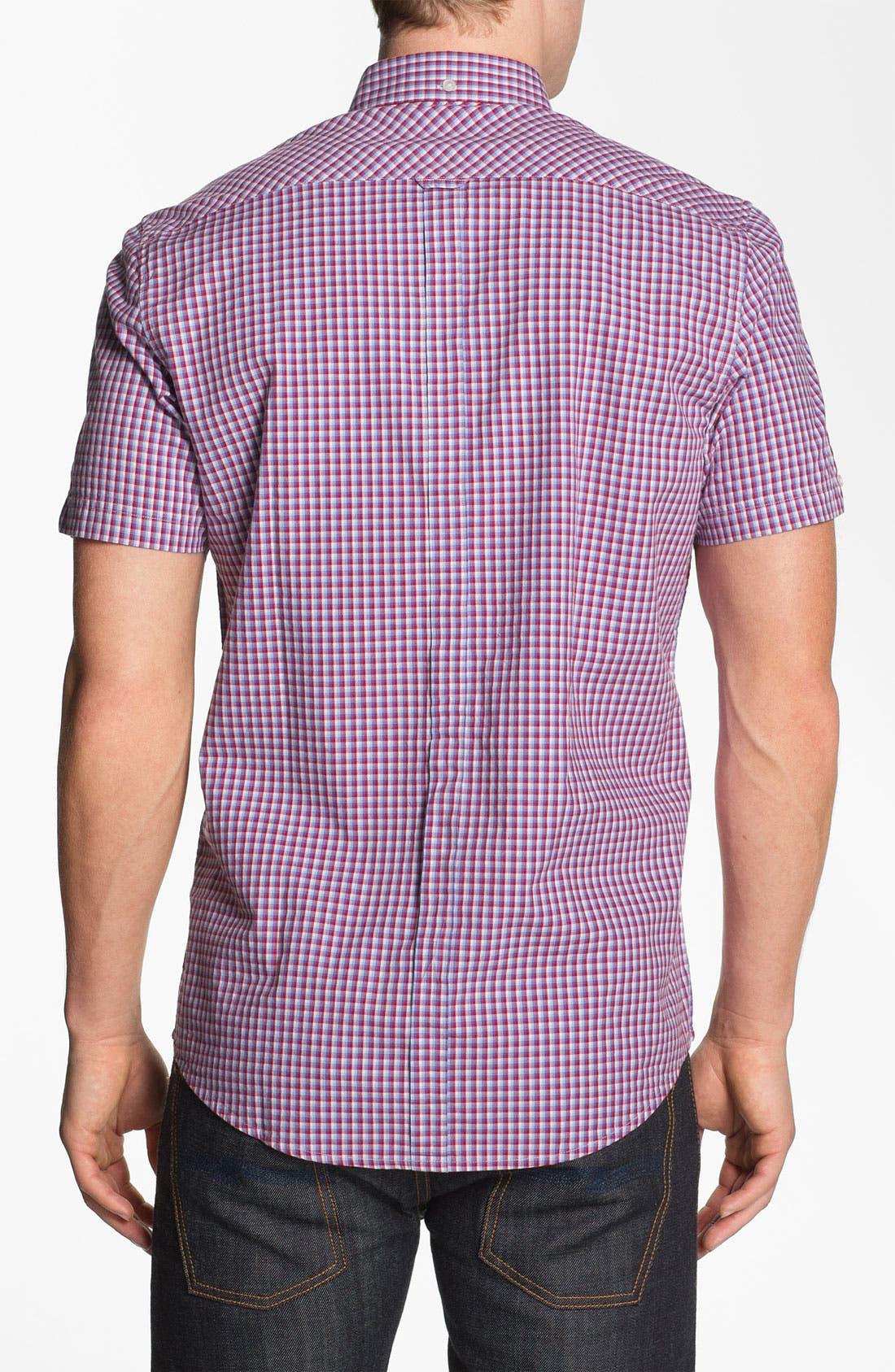 Alternate Image 2  - Ben Sherman Short Sleeve Woven Shirt