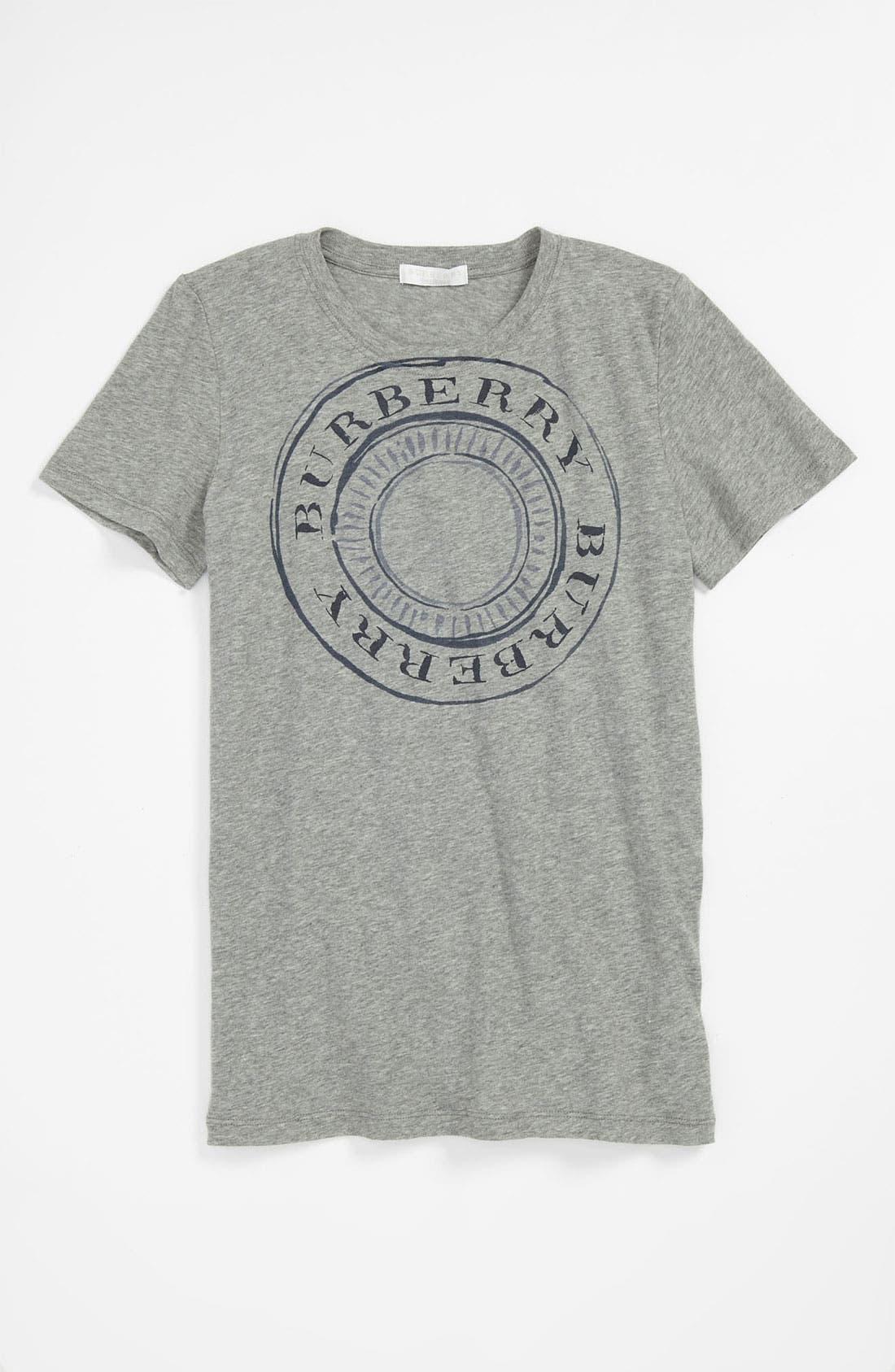 Alternate Image 1 Selected - Burberry 'Mini Grange' T-Shirt (Little Boys & Big Boys)