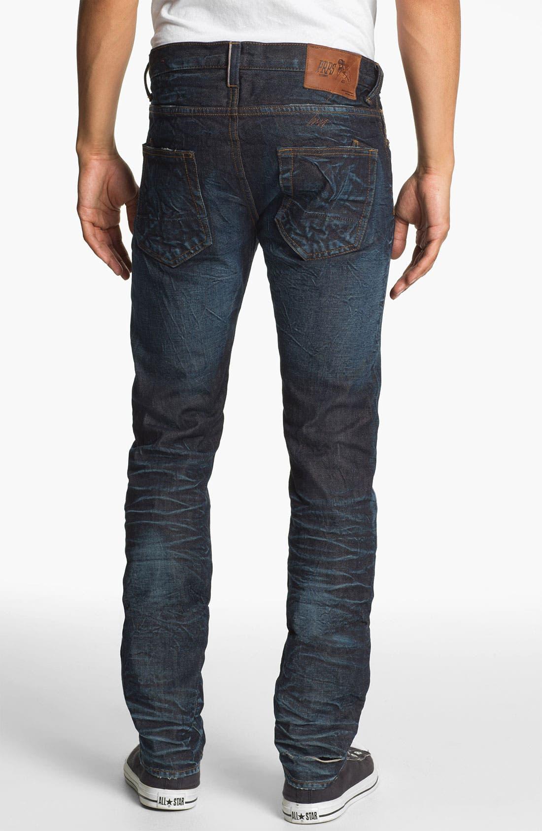 Alternate Image 1  - PRPS 'Rambler' Slim Fit Selvedge Jeans (6 Month)