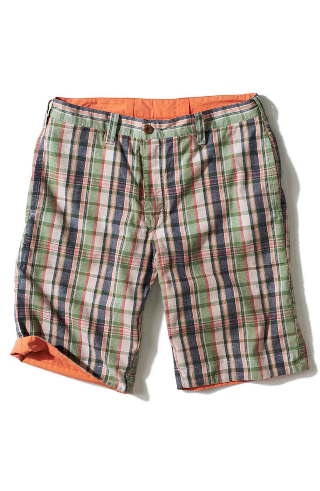 Alternate Image 5  - Tailor Vintage Reversible Flat Front Shorts