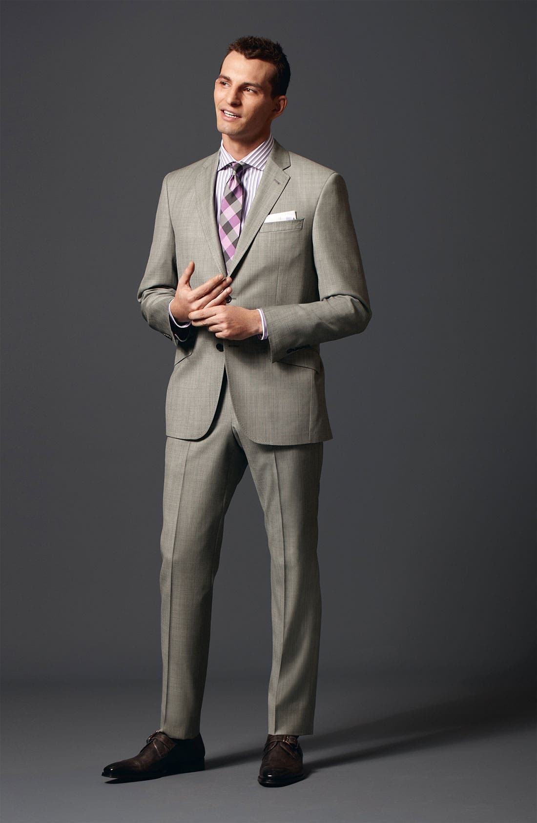 Alternate Image 8  - Ted Baker London Jones Trim Fit Wool Suit