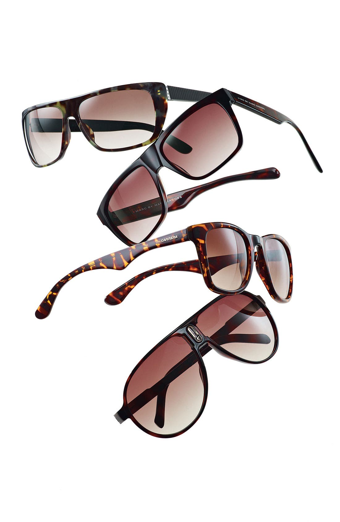Alternate Image 2  - Carrera Eyewear 'Champion' 62mm Polarized Folding Sunglasses