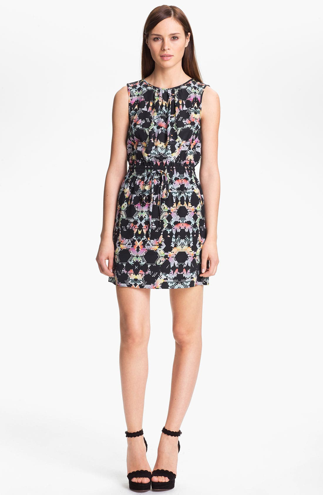Alternate Image 1 Selected - Tibi Print Blouson Dress