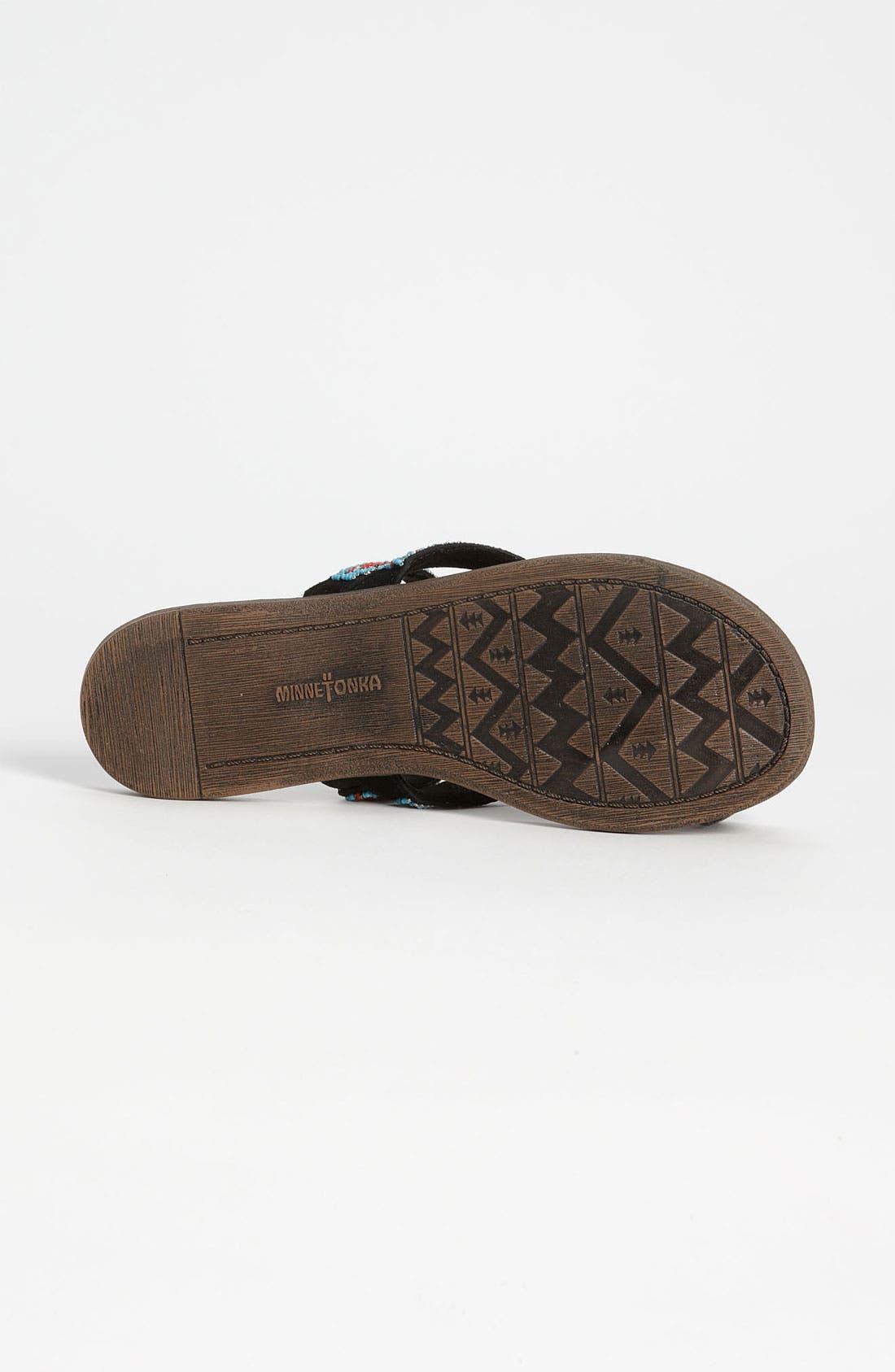 Alternate Image 4  - Minnetonka 'Bermuda' Sandal