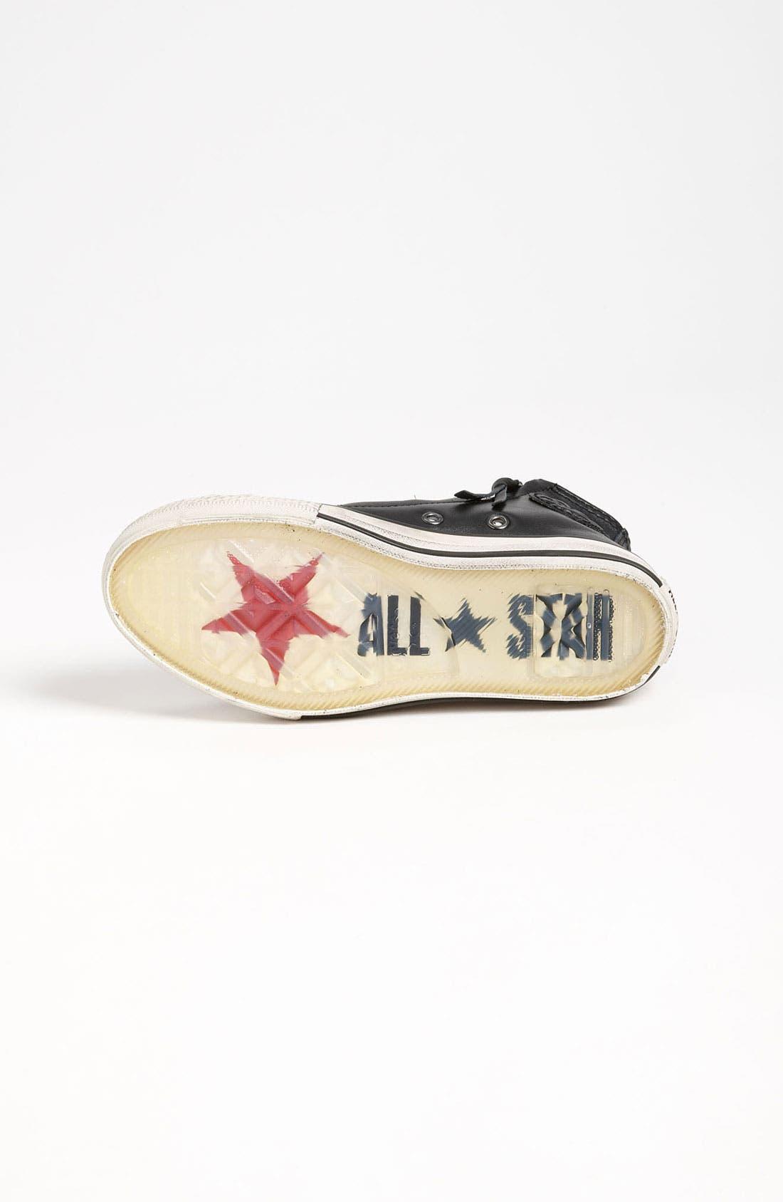 Alternate Image 4  - Converse by John Varvatos 'Double Zip' High Top Sneaker (Toddler, Little Kid & Big Kid)