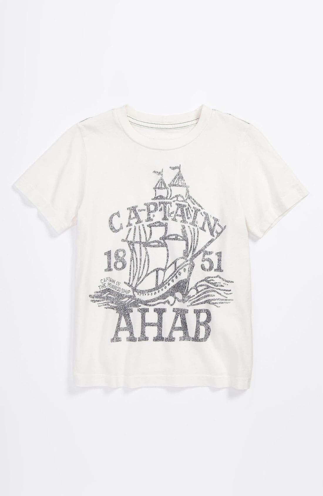Alternate Image 1 Selected - Peek Graphic T-Shirt (Toddler, Little Boys & Big Boys)