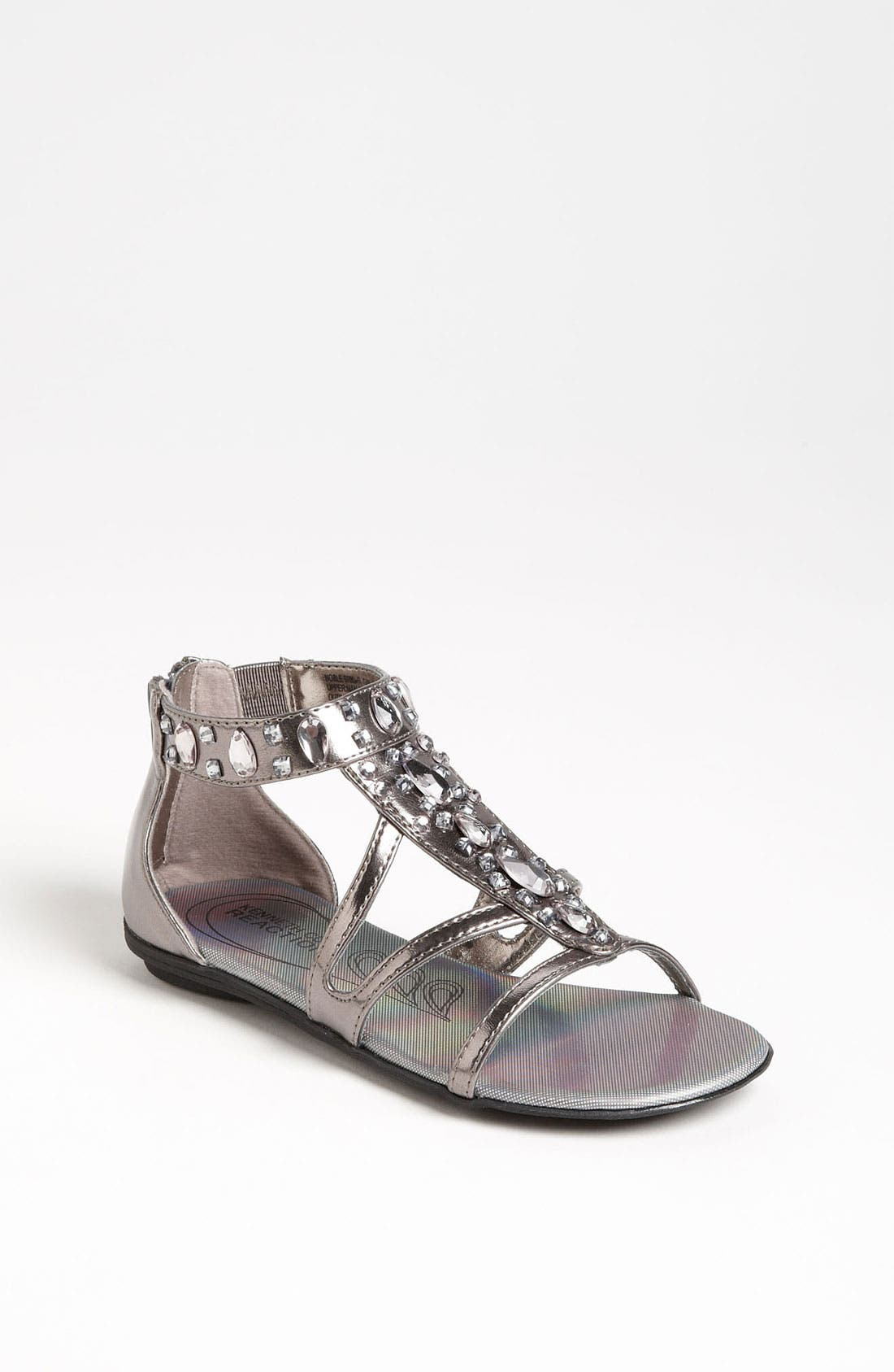 Main Image - Kenneth Cole Reaction 'Noble Bright' Gladiator Sandal (Little Kid & Big Kid)
