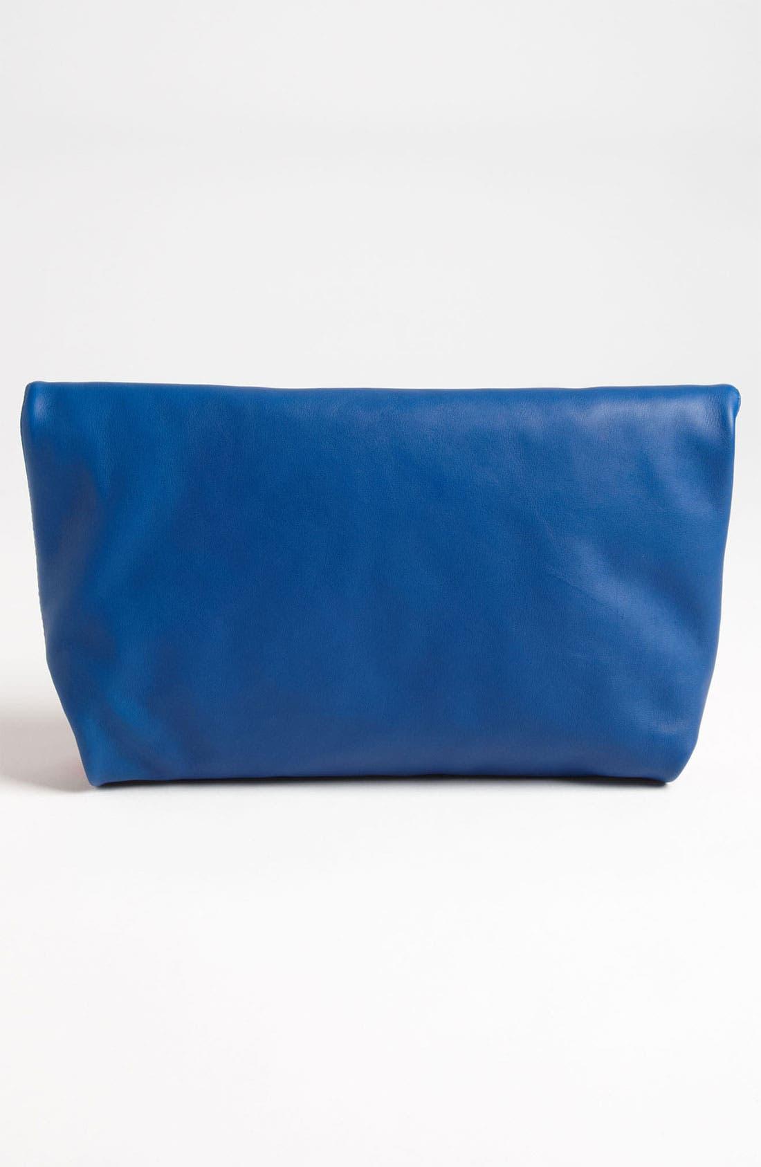 Alternate Image 4  - Emilio Pucci 'Softy - Bicolor' Foldover Clutch