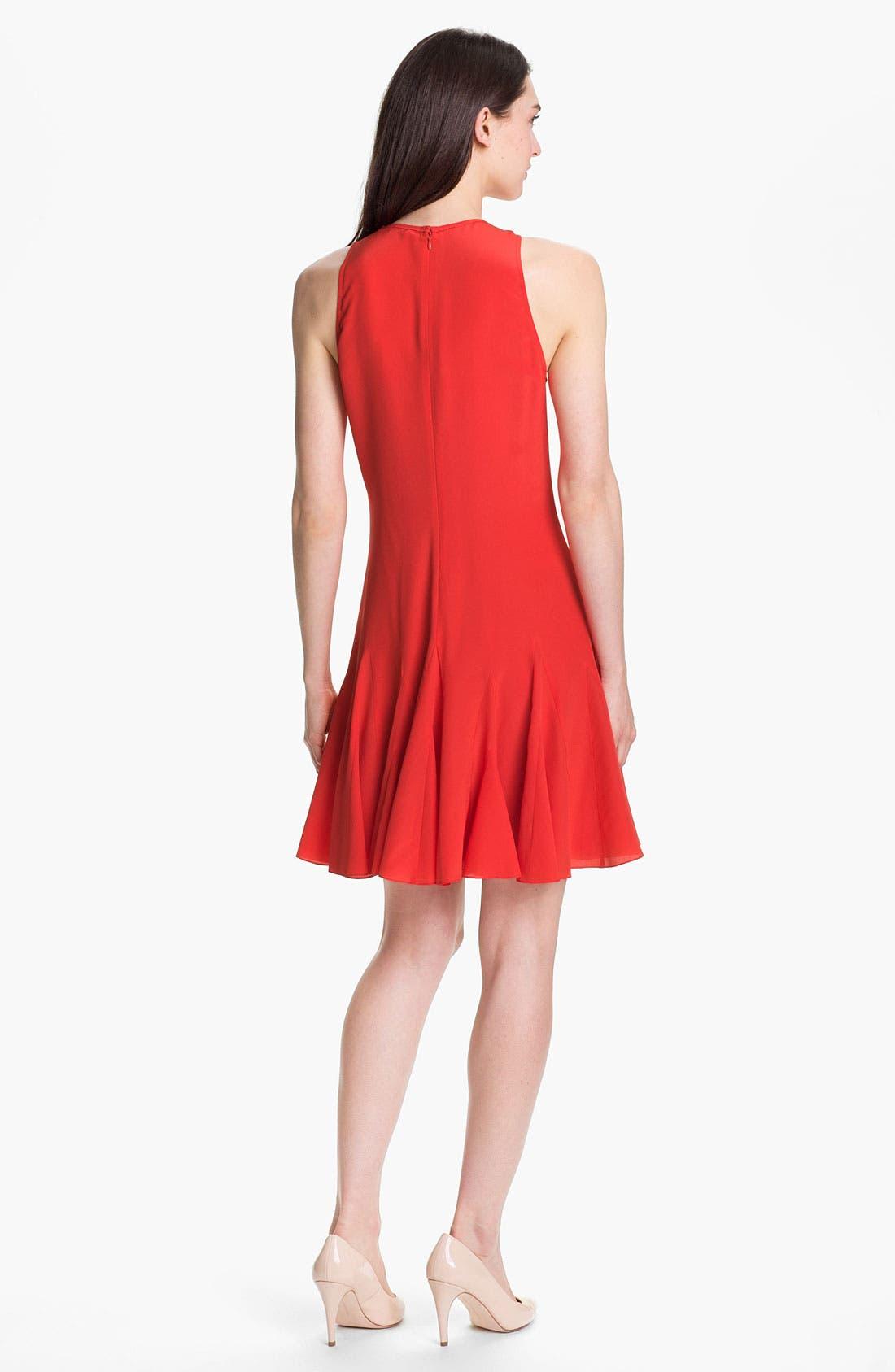 Alternate Image 2  - Rebecca Taylor Pieced Godet Dress