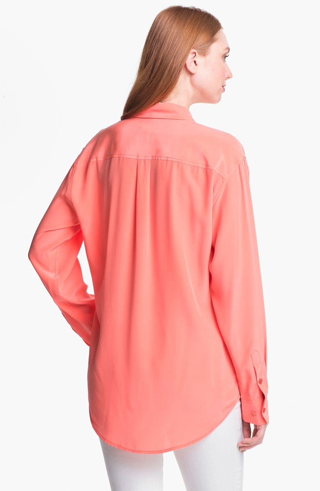 Alternate Image 2  - Equipment 'Signature' Silk Shirt