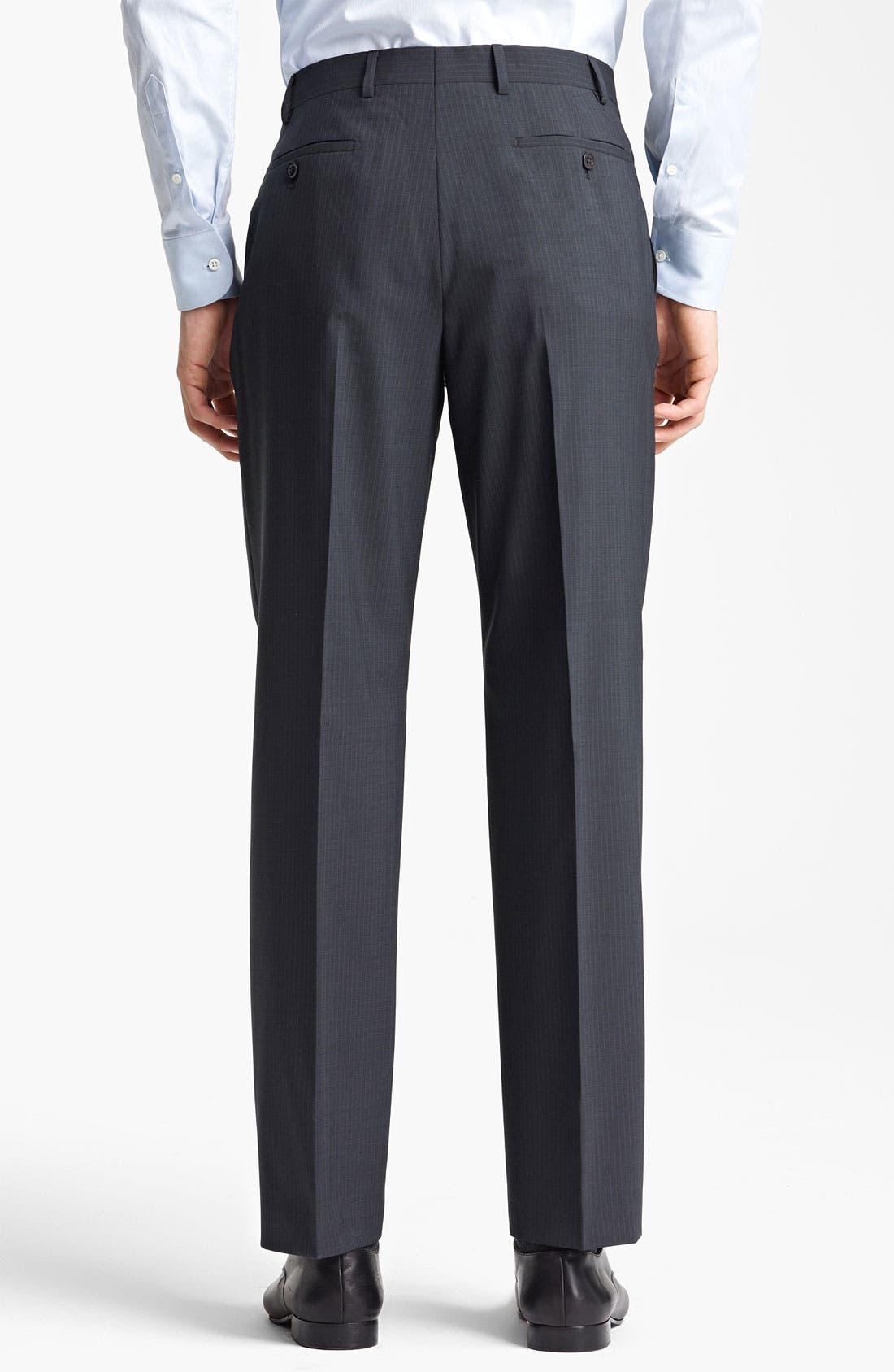 Alternate Image 5  - Armani Collezioni 'Giorgio' Pinstripe Suit