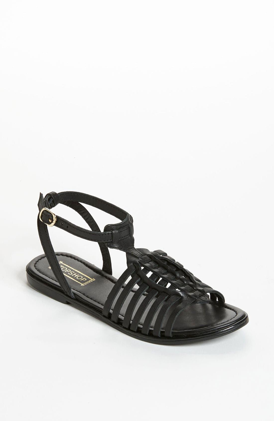 Alternate Image 1 Selected - Topshop 'Forward Vintage' Sandal