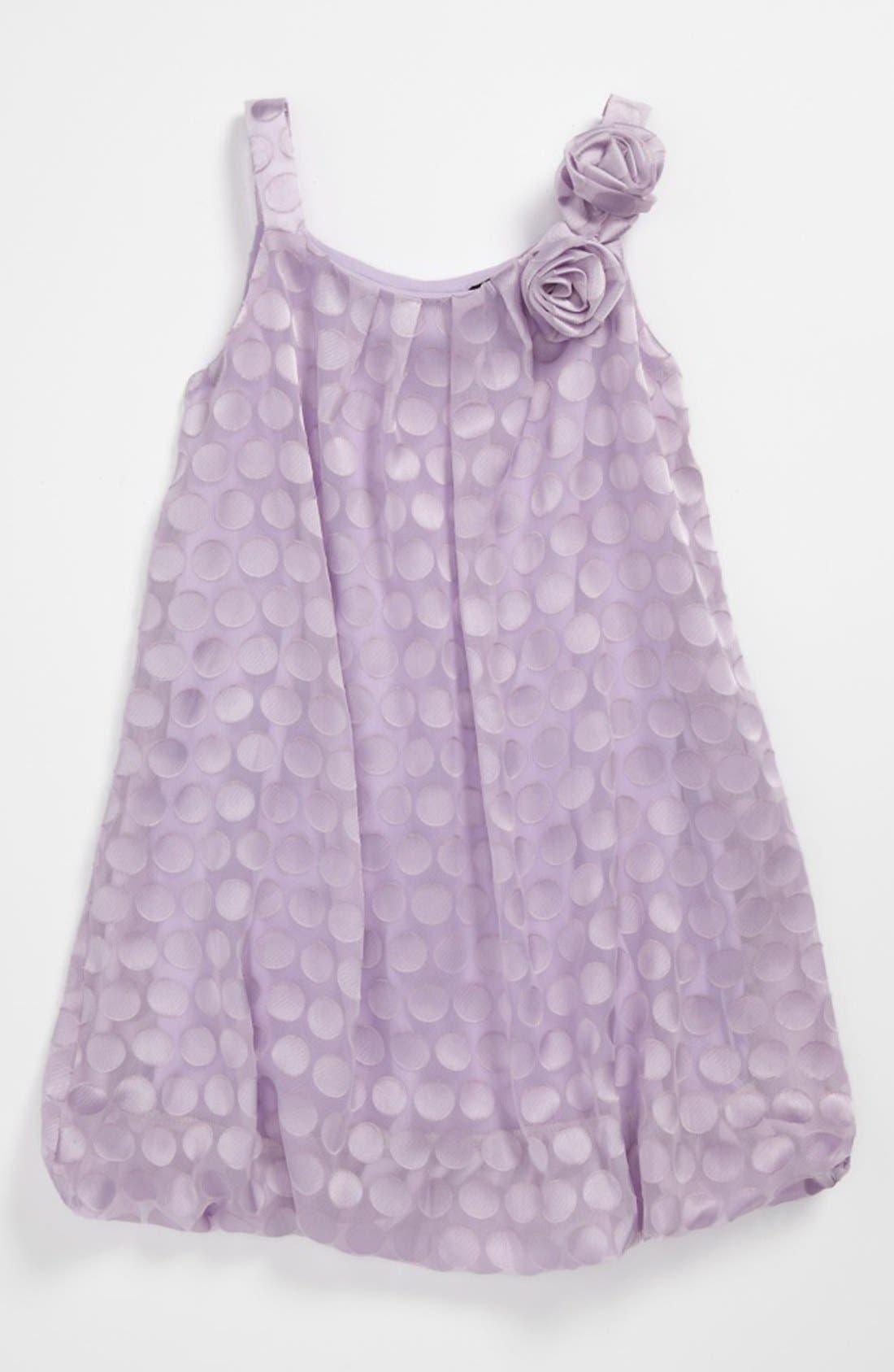 Alternate Image 1 Selected - Zunie Burnout Dress (Little Girls)
