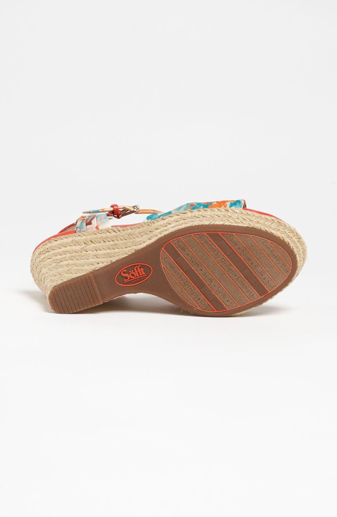 Alternate Image 4  - Söfft 'Peggie' Sandal