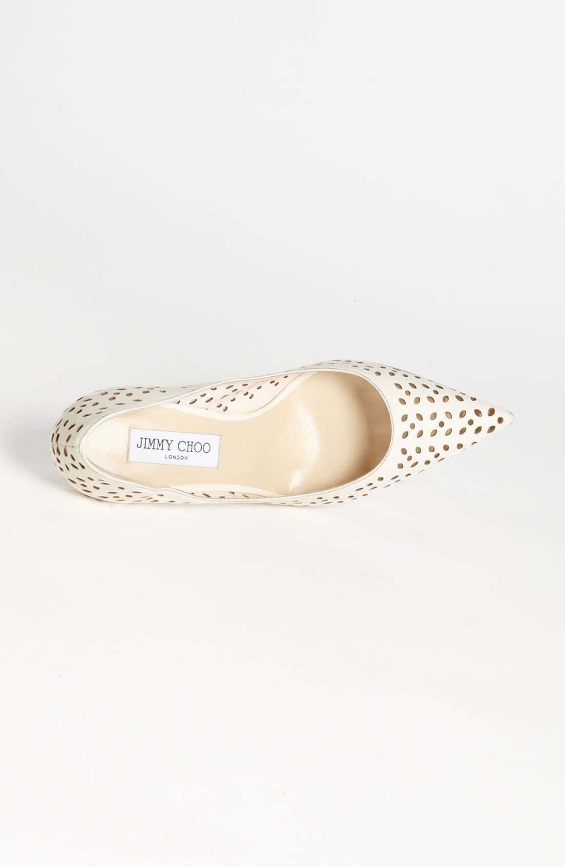 Alternate Image 3  - Jimmy Choo 'Agnes' Perforated Pump
