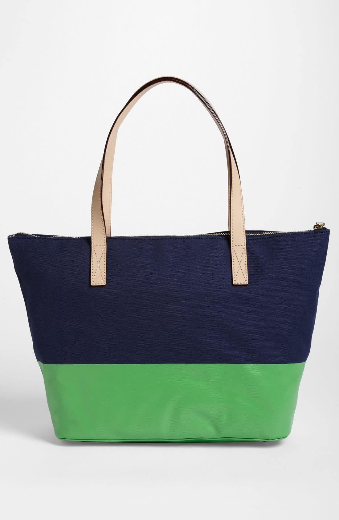 Alternate Image 3  - kate spade new york 'call to action - small coal' tote