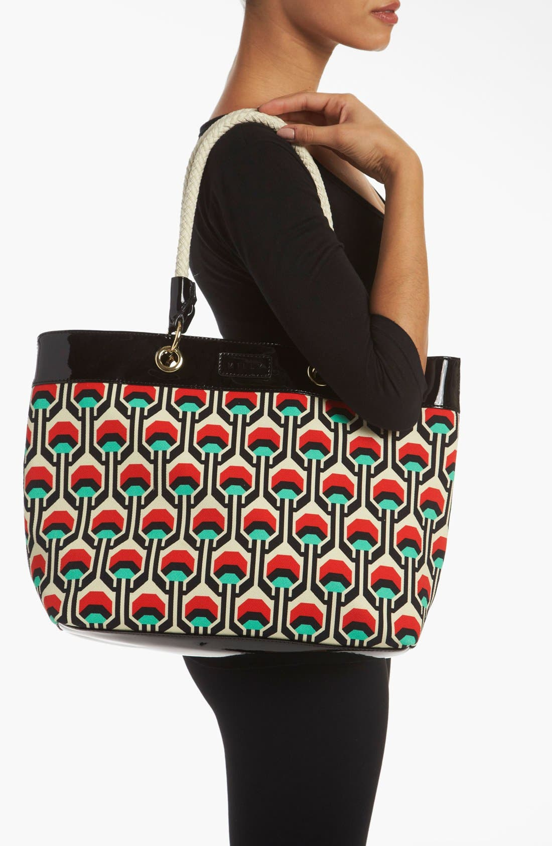 Alternate Image 2  - Milly 'Tribal' Canvas Tote