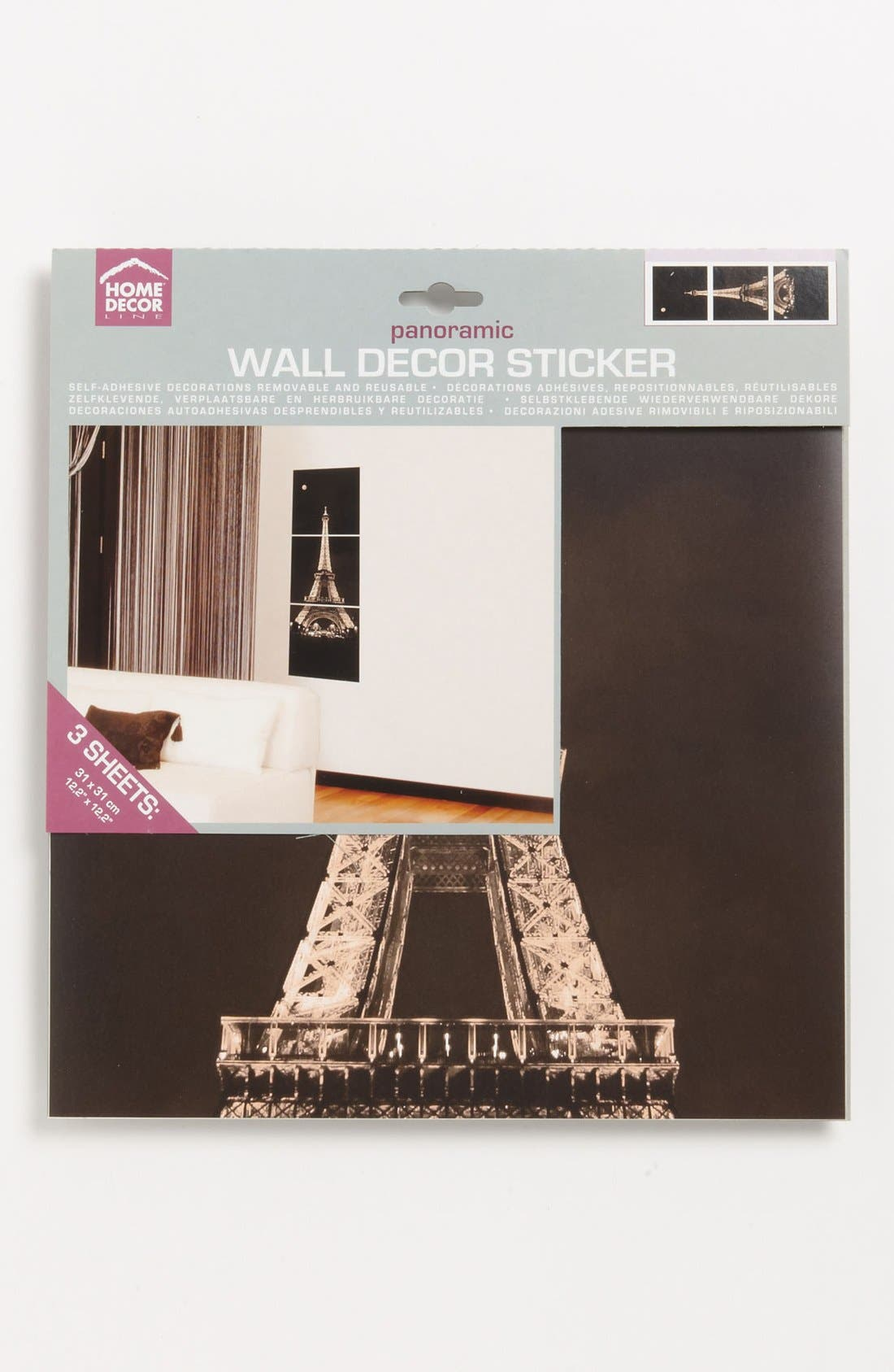 Alternate Image 2  - Wallpops Eiffel Tower Wall Art