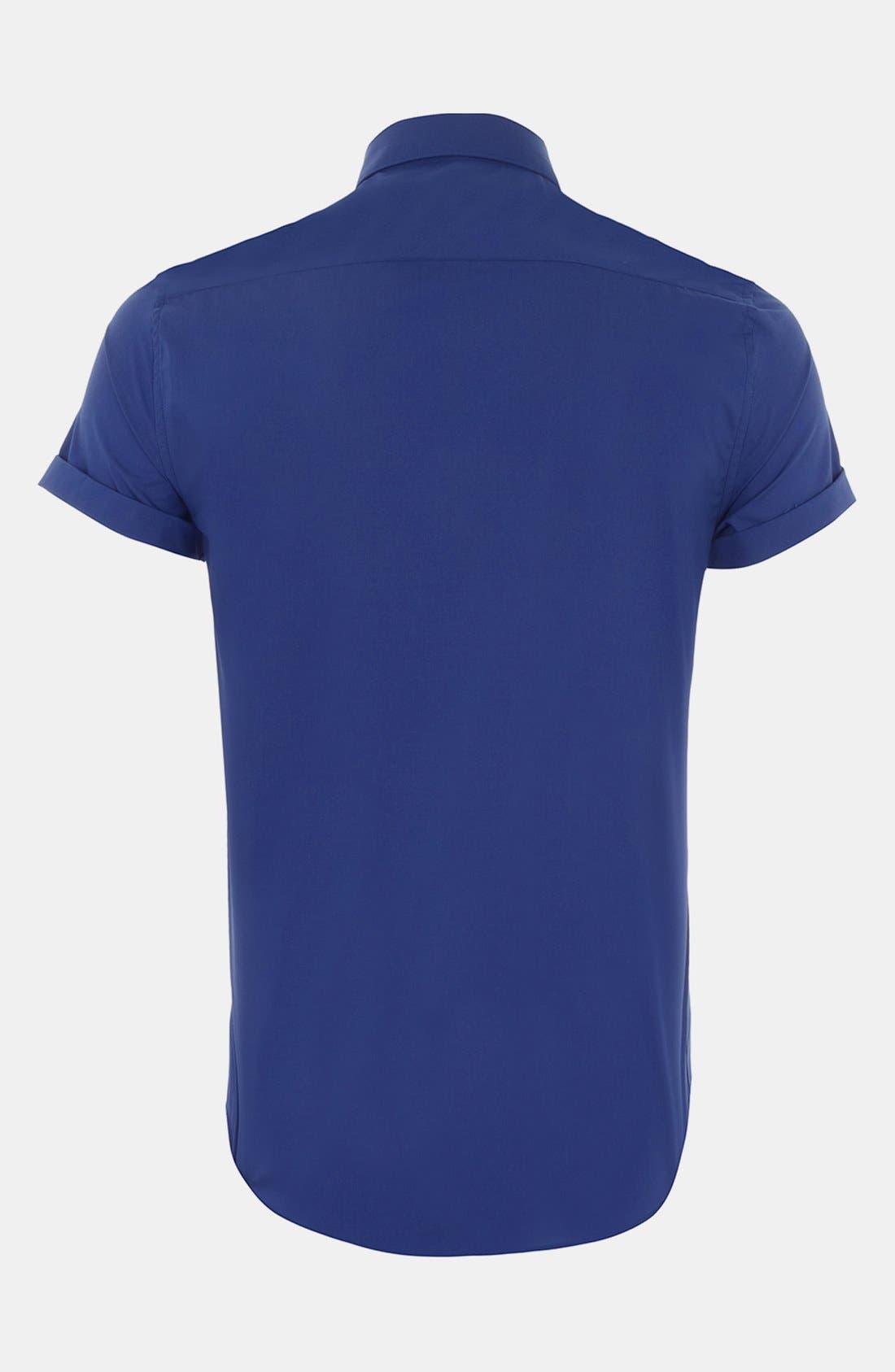 Alternate Image 2  - Topman Short Sleeve Shirt
