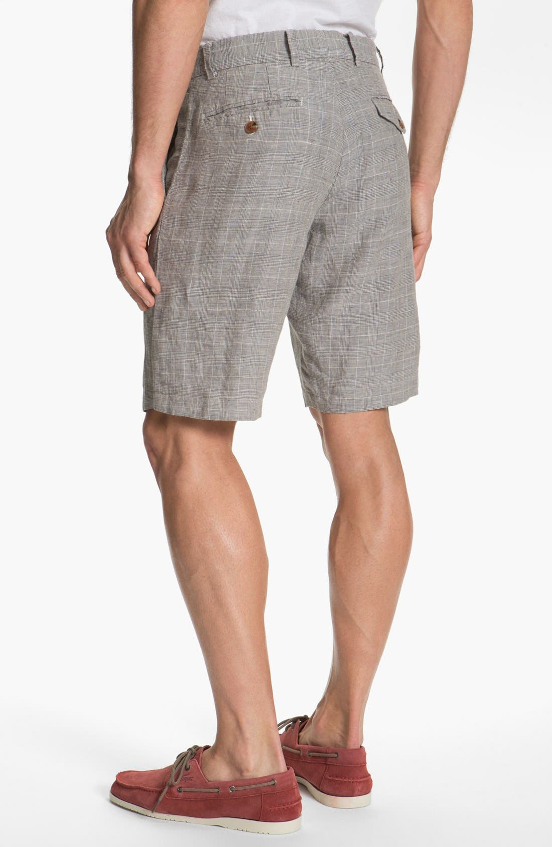 Alternate Image 2  - French Connection 'Wales' Linen Shorts