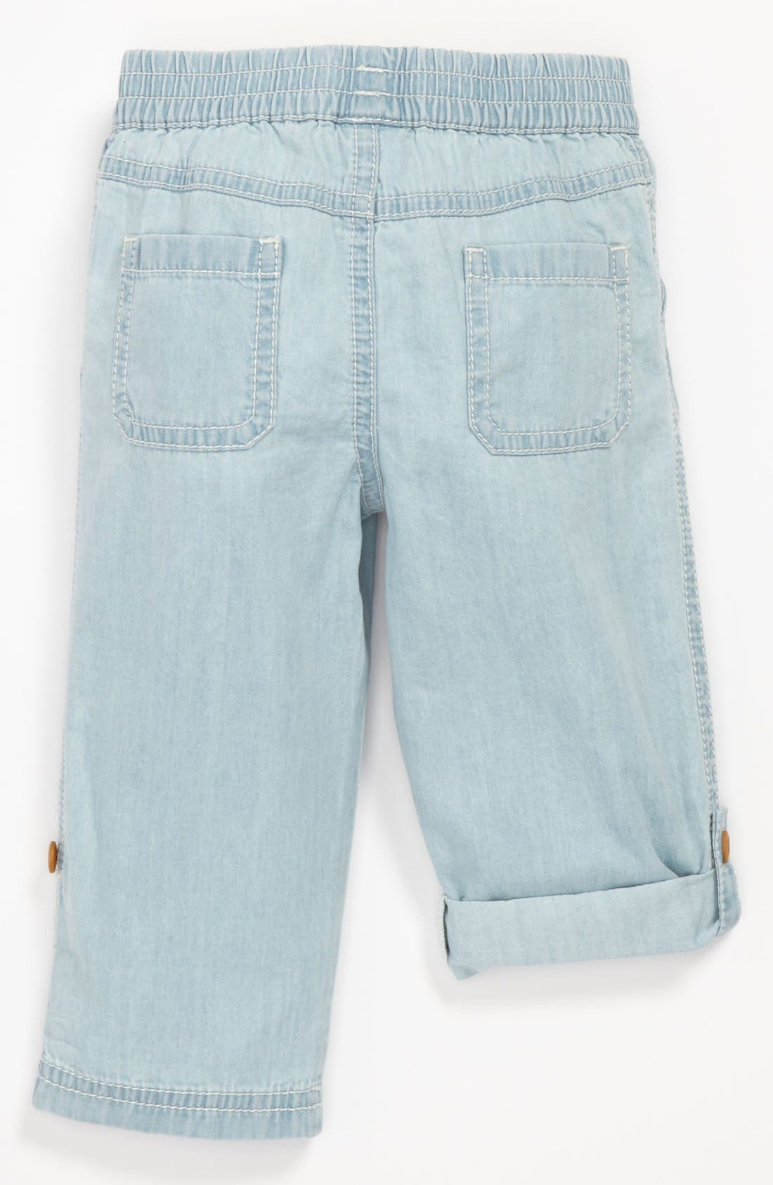 Alternate Image 2  - Nordstrom Baby Convertible Pants (Baby)