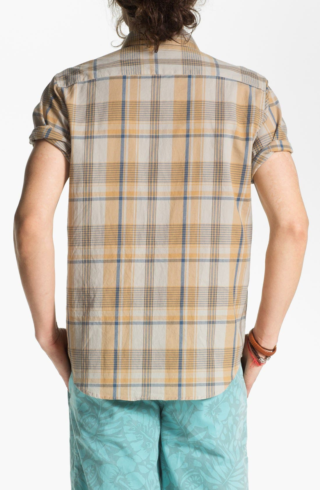 Alternate Image 2  - RVCA 'Nettle' Plaid Woven Shirt