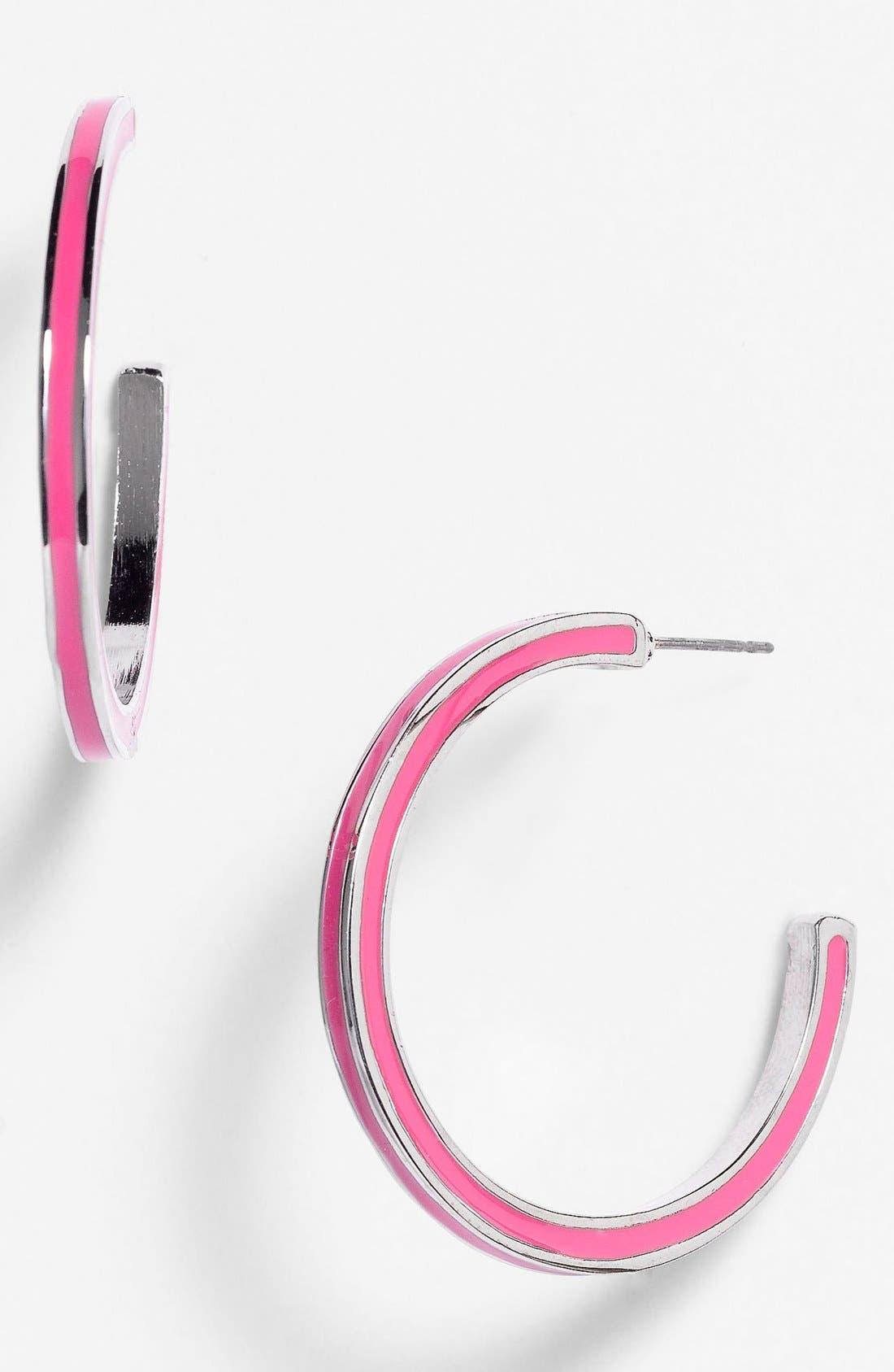 Alternate Image 1 Selected - Lydell NYC Hoop Earrings