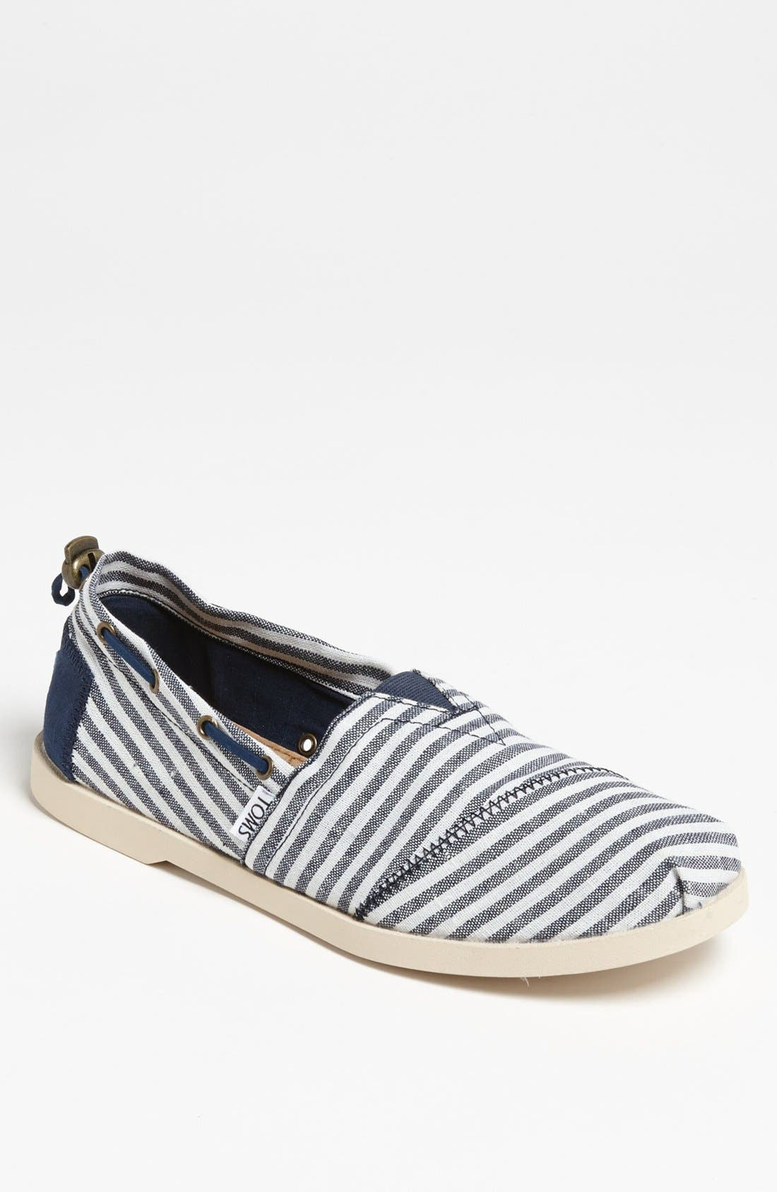 Alternate Image 1 Selected - TOMS 'Bimini - Nautical' Boat Shoe (Men)