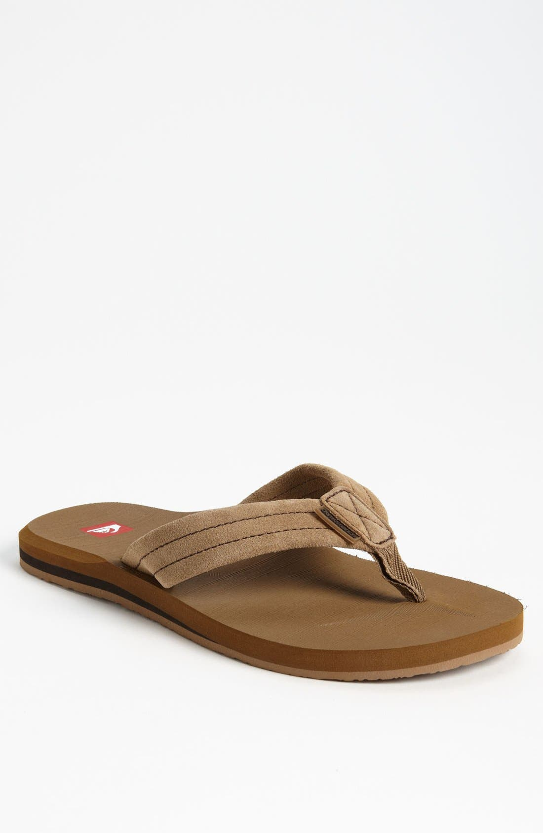 Alternate Image 1 Selected - Quiksilver 'Carver 2' Flip Flop (Men)