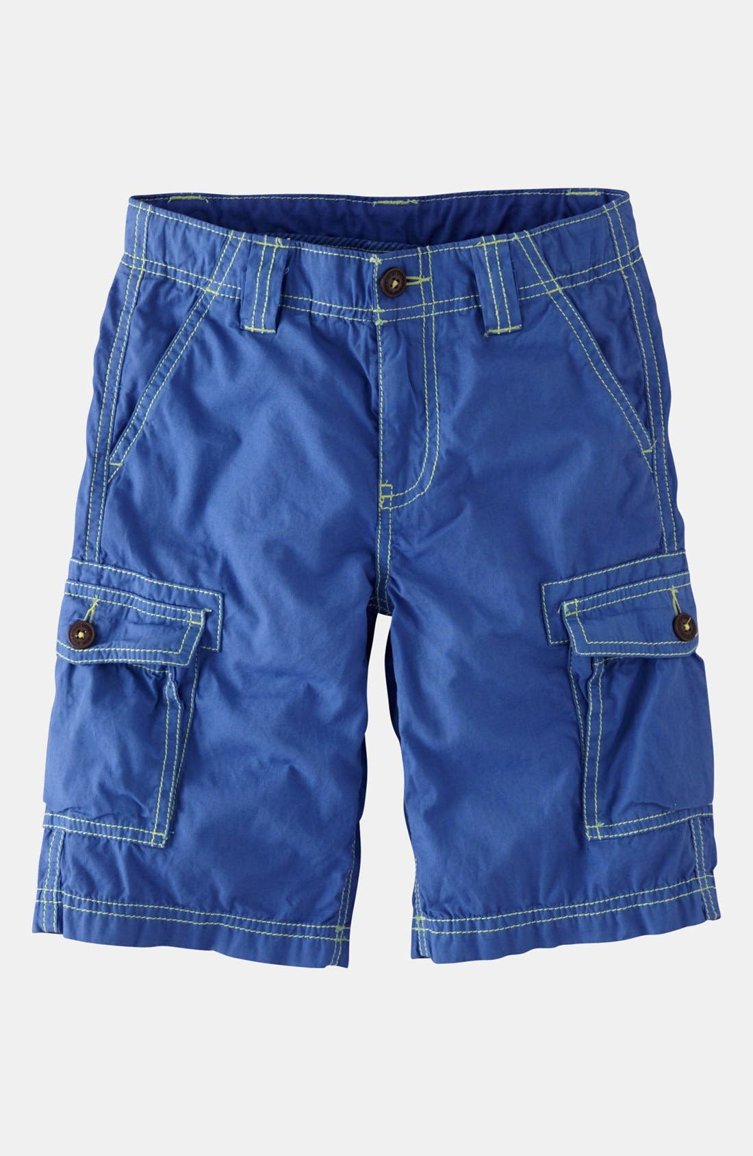 Alternate Image 1 Selected - Mini Boden Cargo Shorts (Toddler, Little Boys & Big Boys)