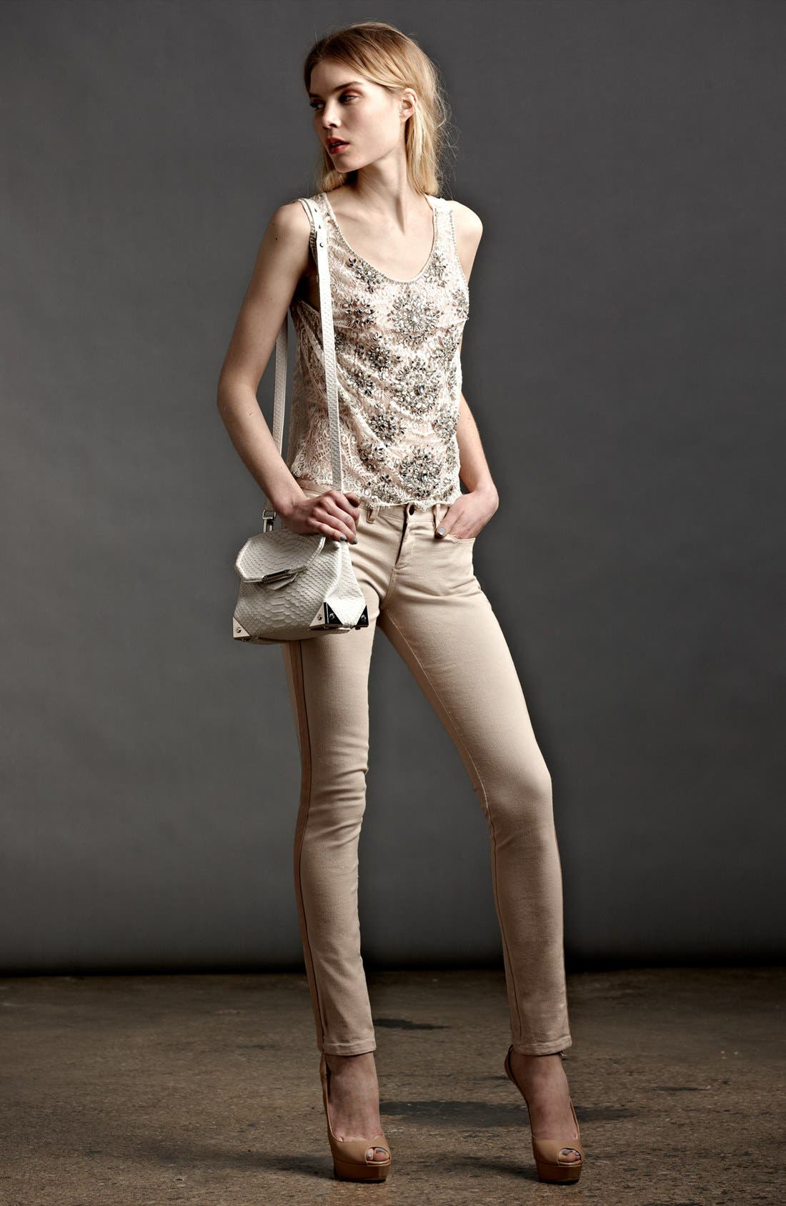 Alternate Image 4  - Haute Hippie 'Deco' Lace Top