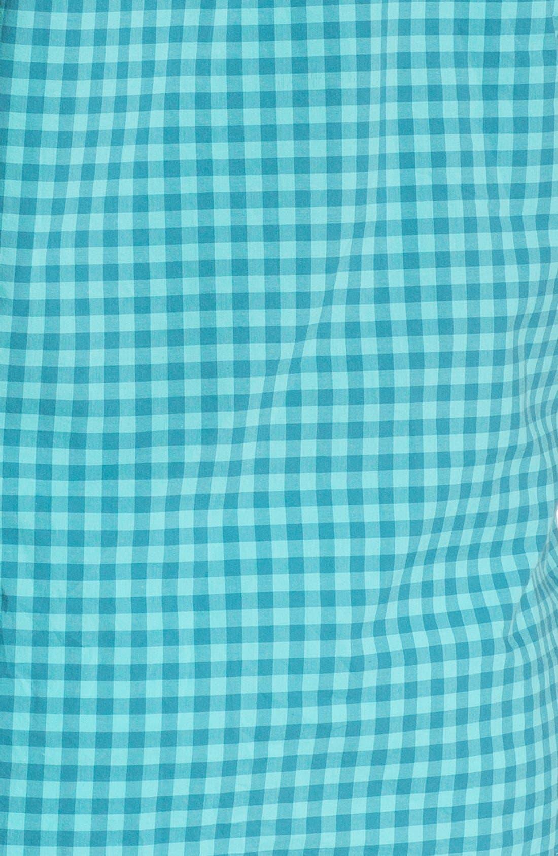 Alternate Image 2  - 1901 Plaid Short Sleeve Woven Shirt