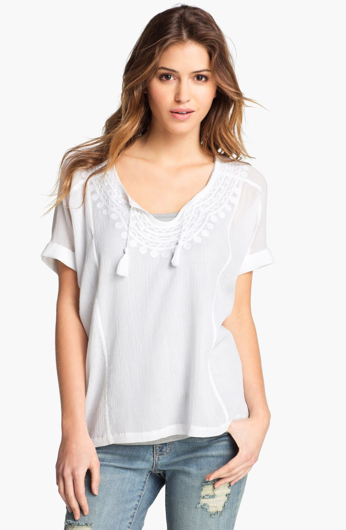 Alternate Image 1 Selected - Lucky Brand 'Ambrosio' Blouse