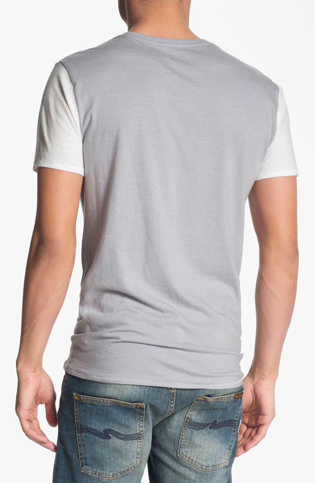 Alternate Image 2  - Loomstate 'Surf City' Graphic V-Neck T-Shirt