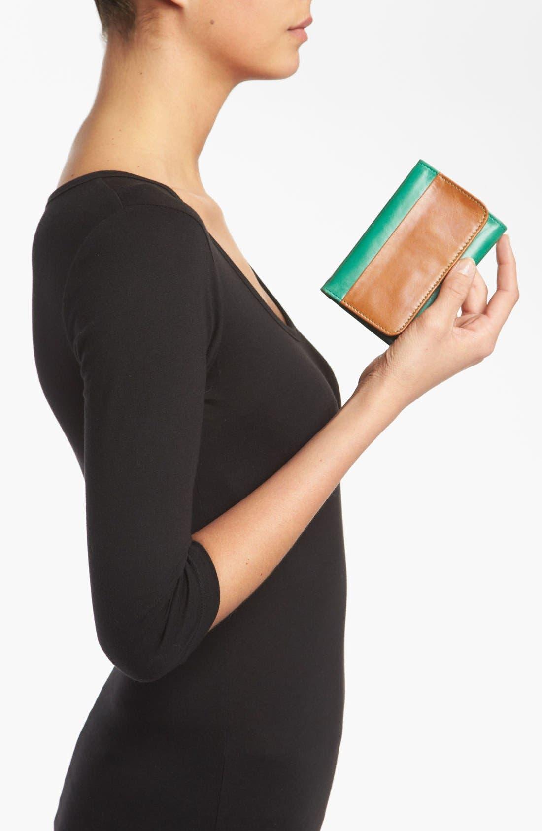 Alternate Image 4  - Hobo 'Jill' Colorblock Wallet