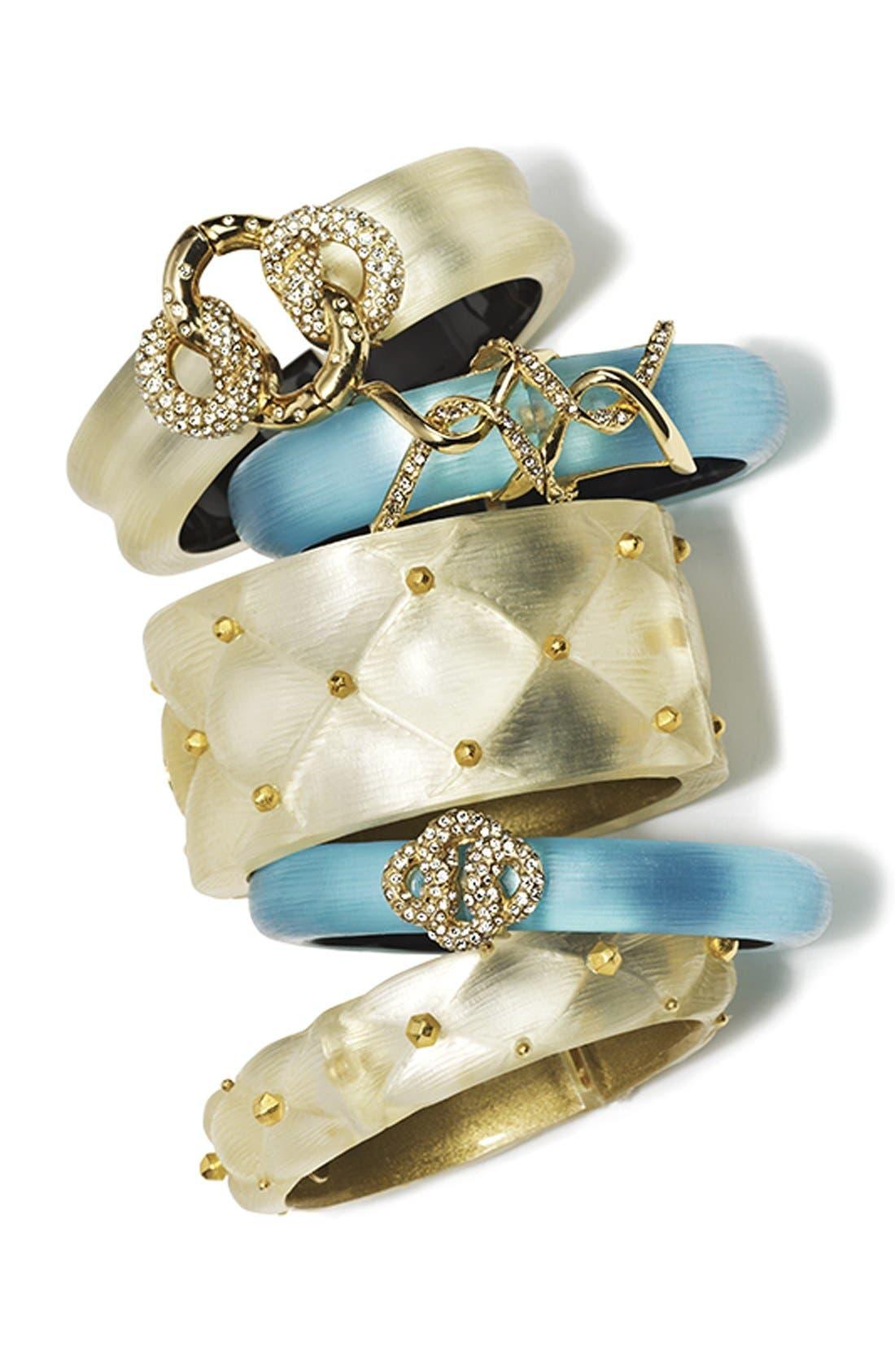 Alternate Image 3  - Alexis Bittar 'Lucite®' Large Quilted Bracelet